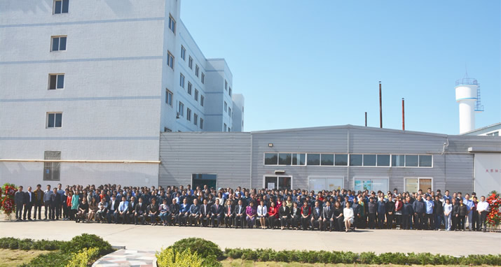 Celebration of the 20th anniversary of foundation at the plant of 龍口東寶食品有限公司 on October 3, 2014